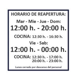 horario chiringuito el cachalote